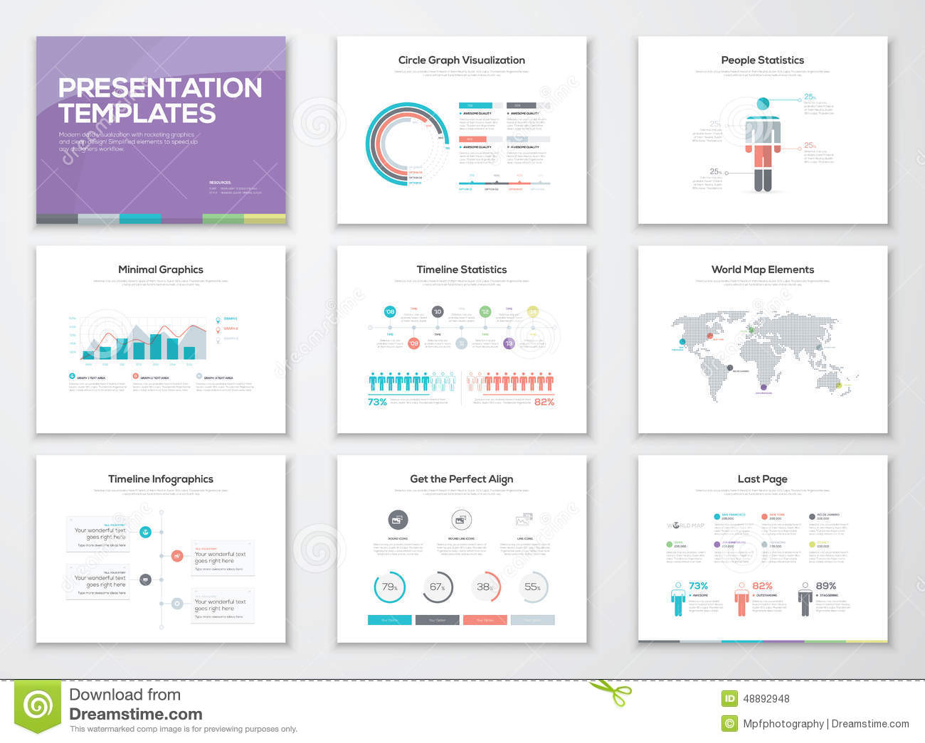 Infographic presentation templates and business brochures for Infographic brochure template