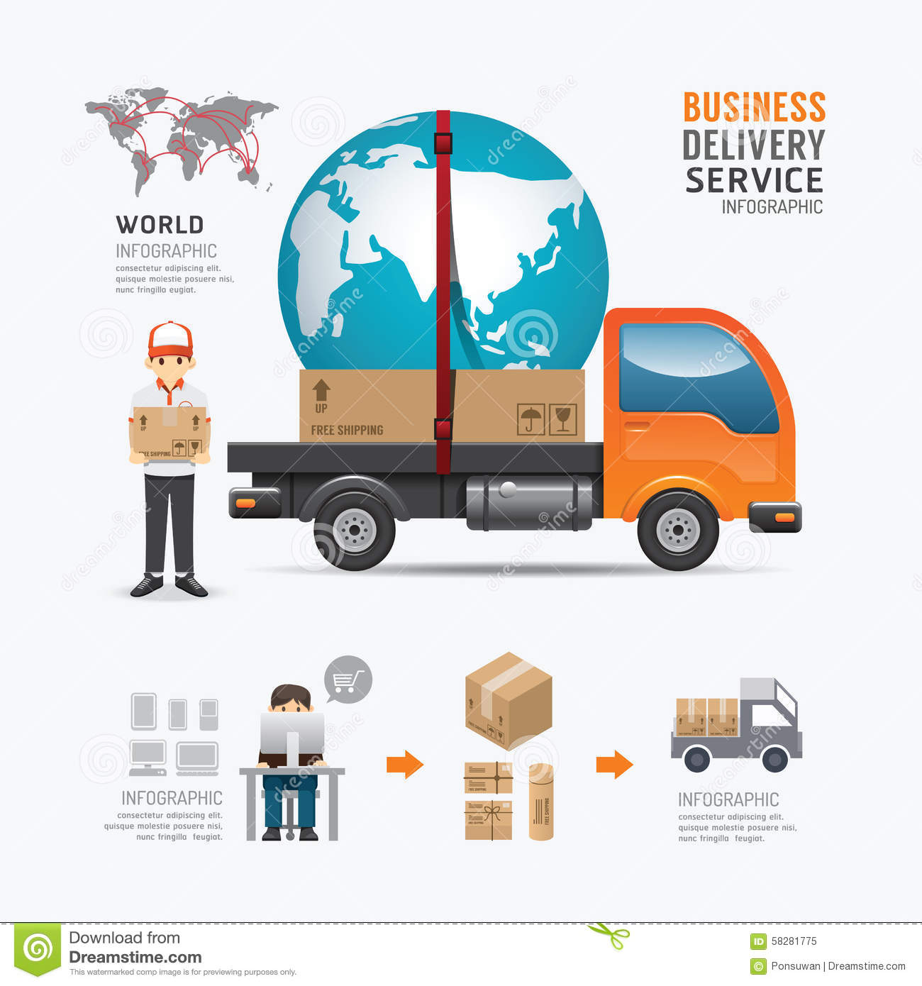 A Sample Courier Service Company Business Plan Template