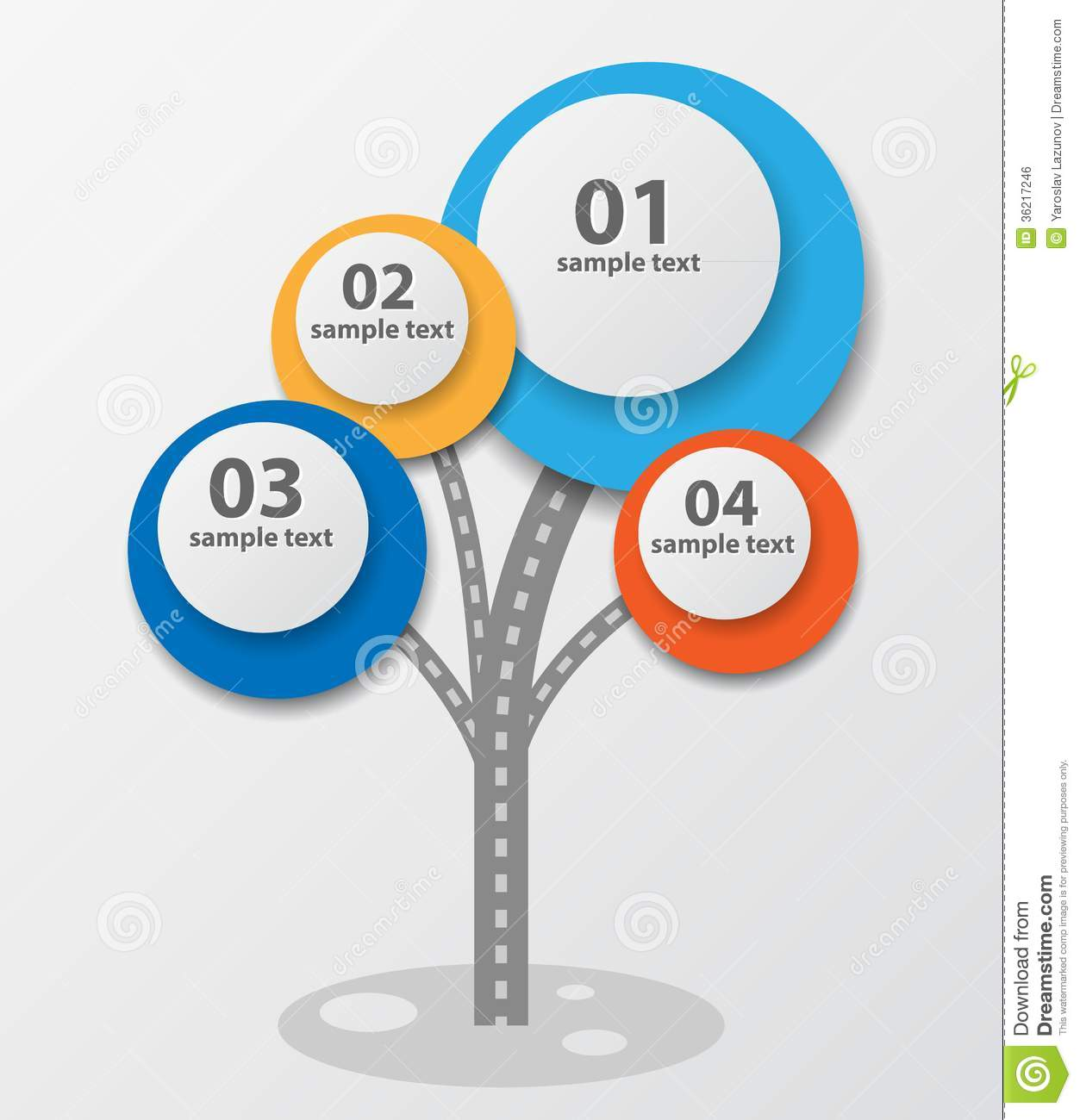 ... Template Design With Tree. Royalty Free Stock Image - Image: 36217246