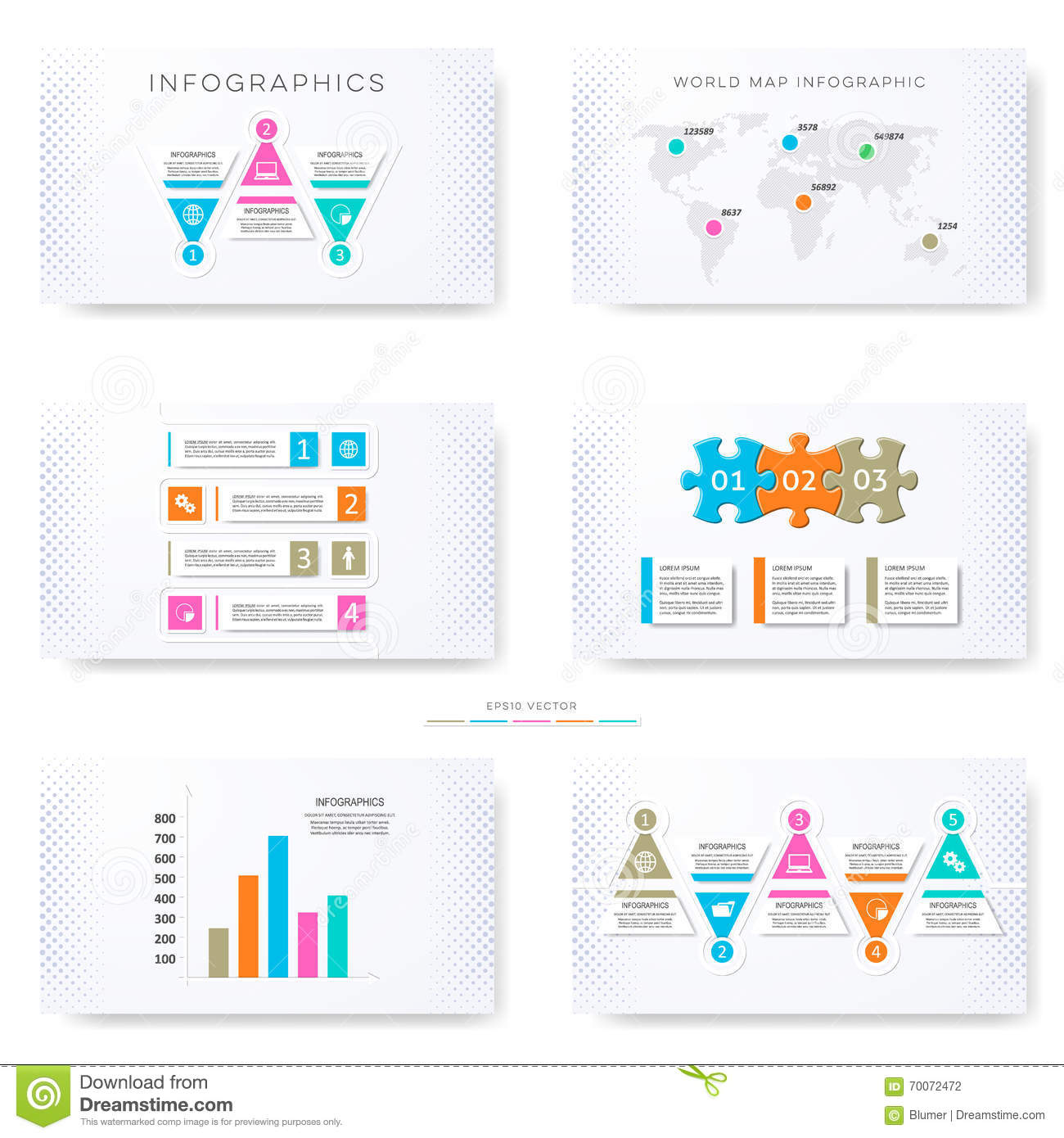Infographic ppt template free download