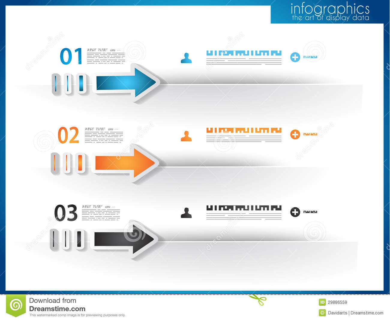 Infographic Template For Statistic Data Visualization. Royalty Free ...