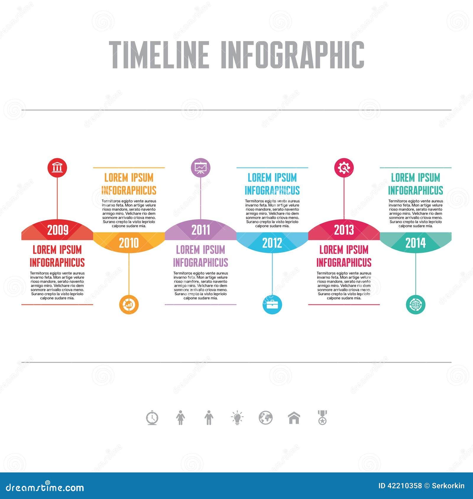 creative timeline school project ideas - Web Design Project Ideas
