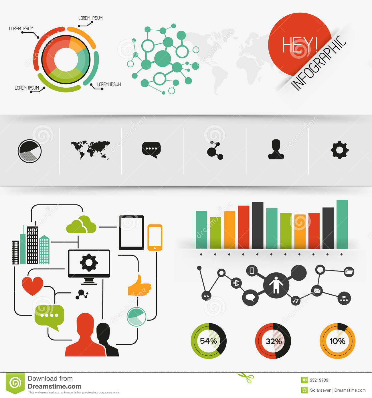 Infographic Vector Elements Stock Vector - Illustration of ...