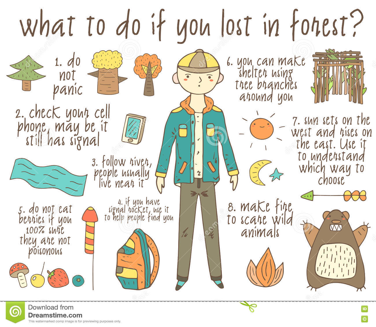 What to eat in the forest