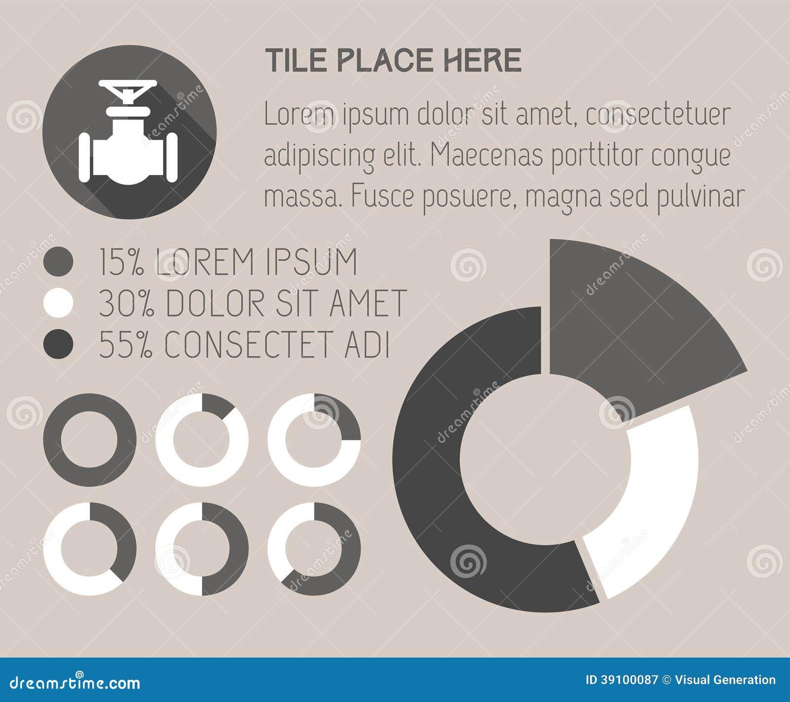 Infographicelementen.
