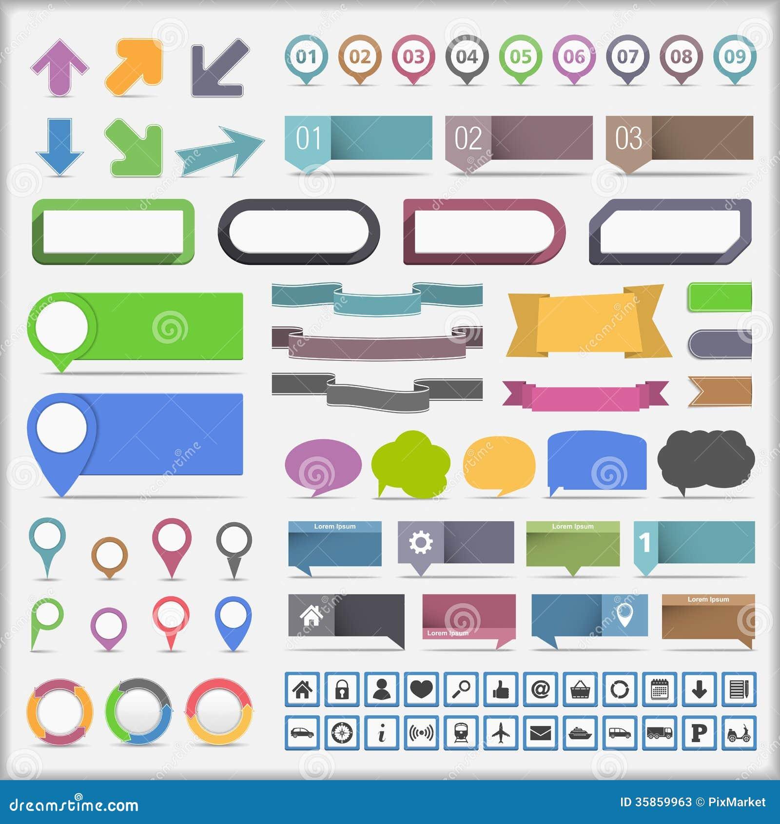 Infographics元素汇集