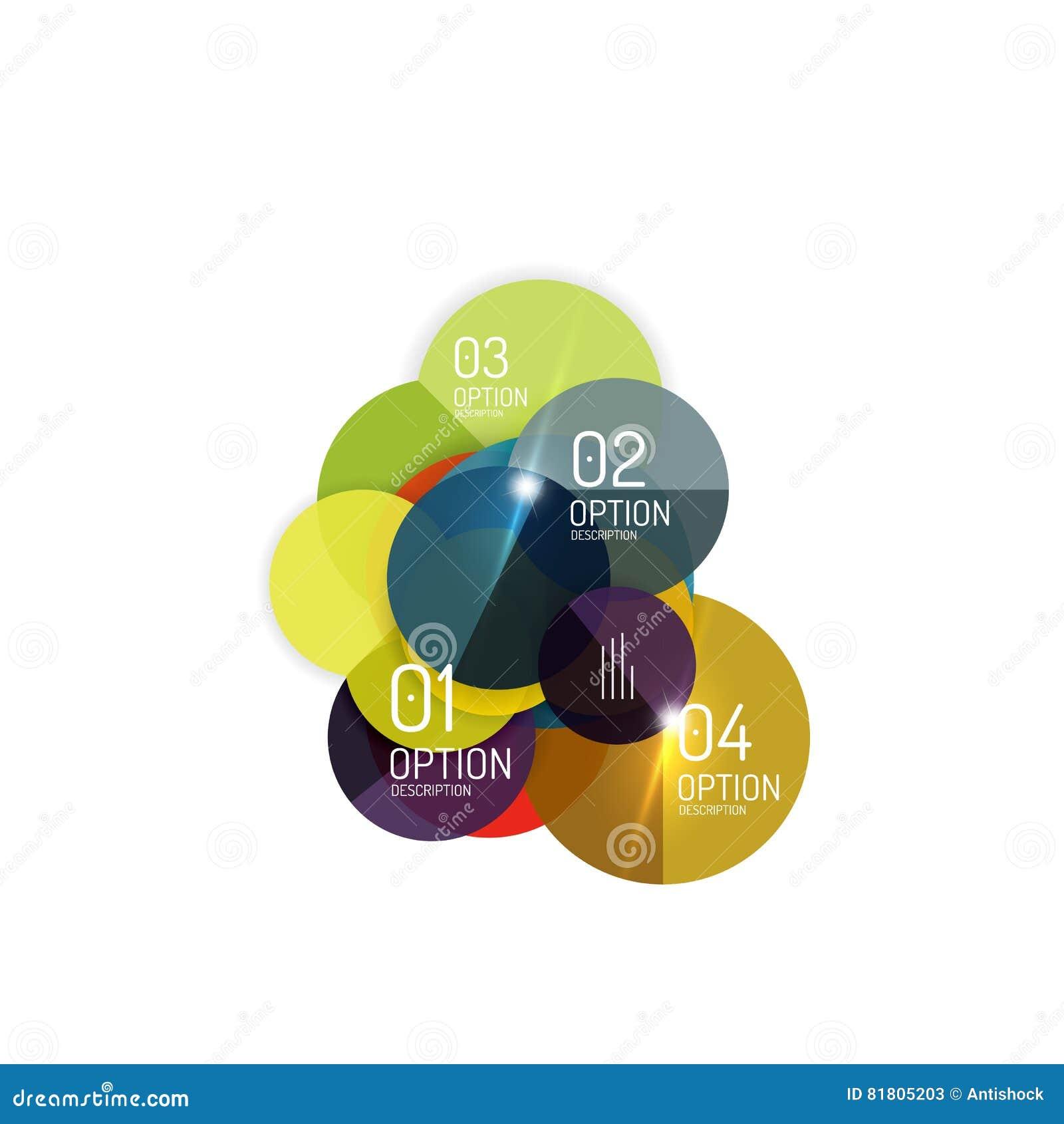 Infographics дела вектора, вариант отборный