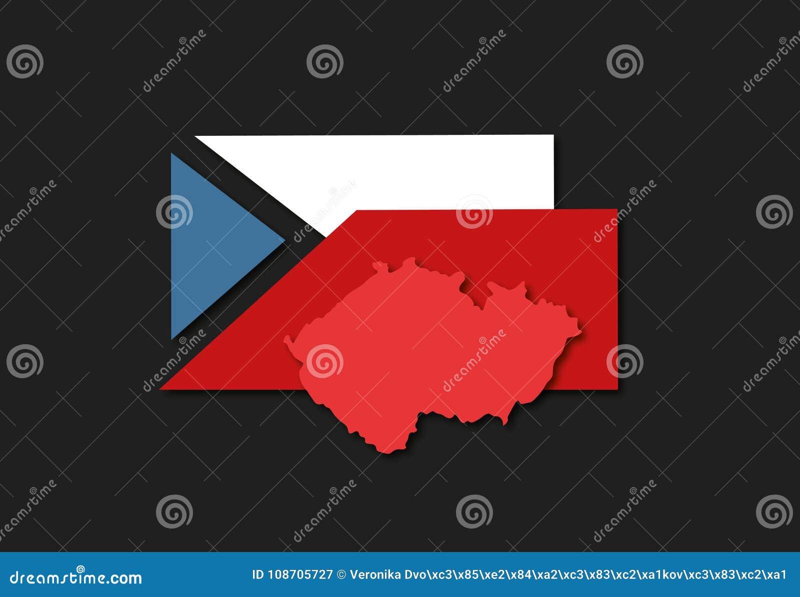 Infographics aan Presidentsverkiezing in de Tsjechische Republiek die de Ongelijkheid van Tsjechische Kiezers benadrukken