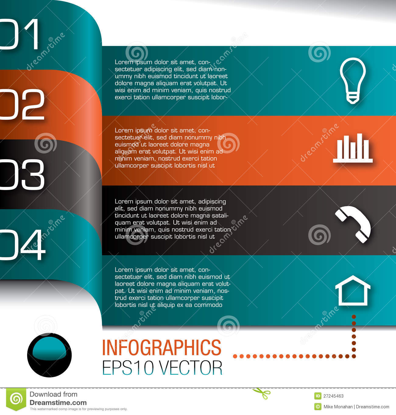 Infographics Design Template Stock Photos - Image: 27245463