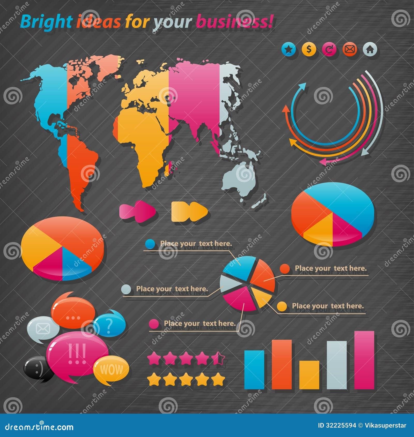 Download Infographics do vetor ilustração do vetor. Ilustração de salário - 32225594