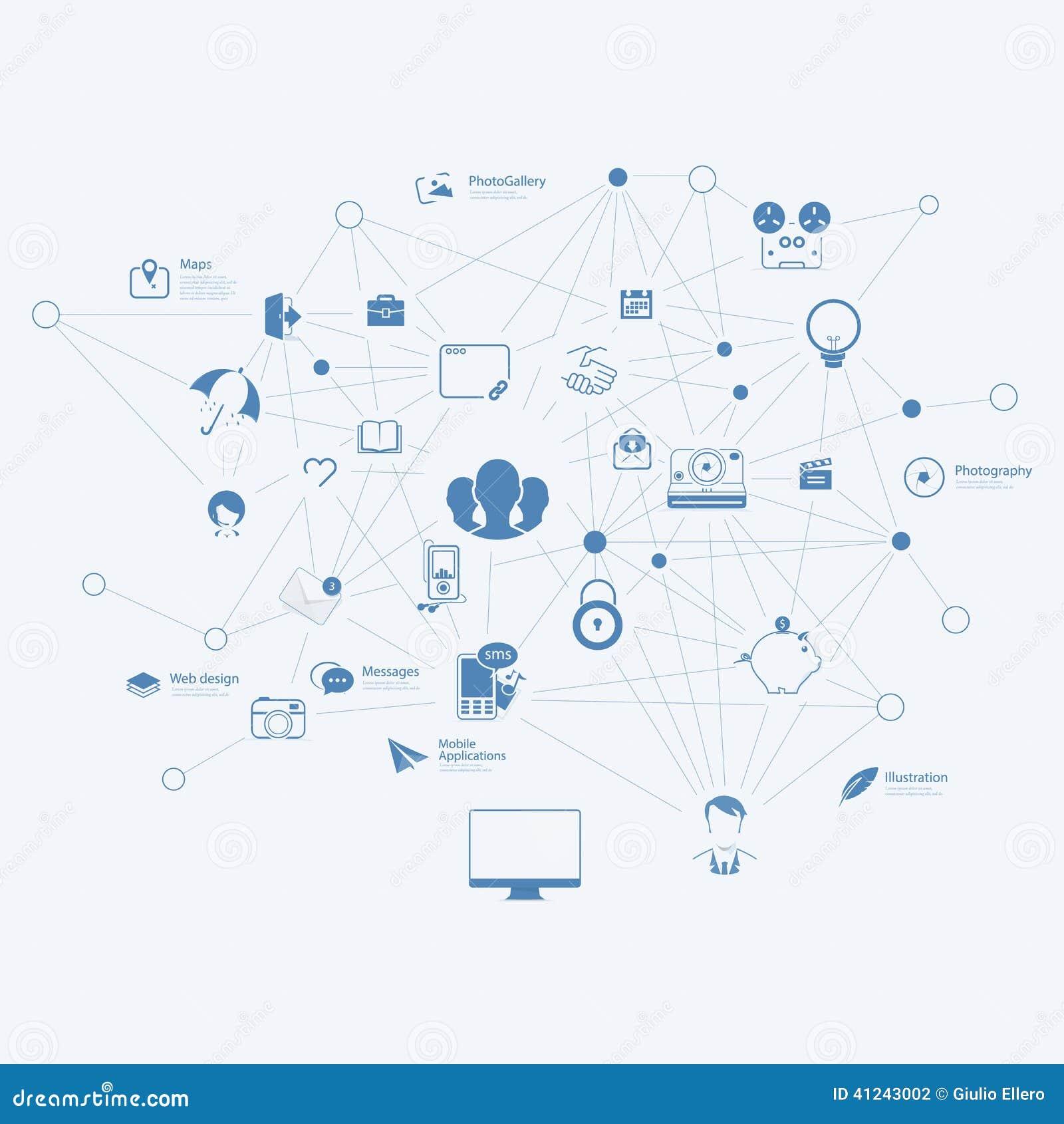 Infographics elementy