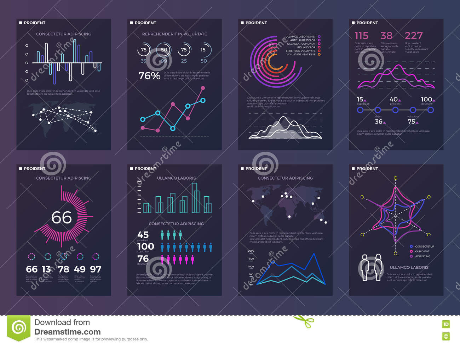 Infographics, Folletos Vector Las Plantillas Para Los Informes De ...