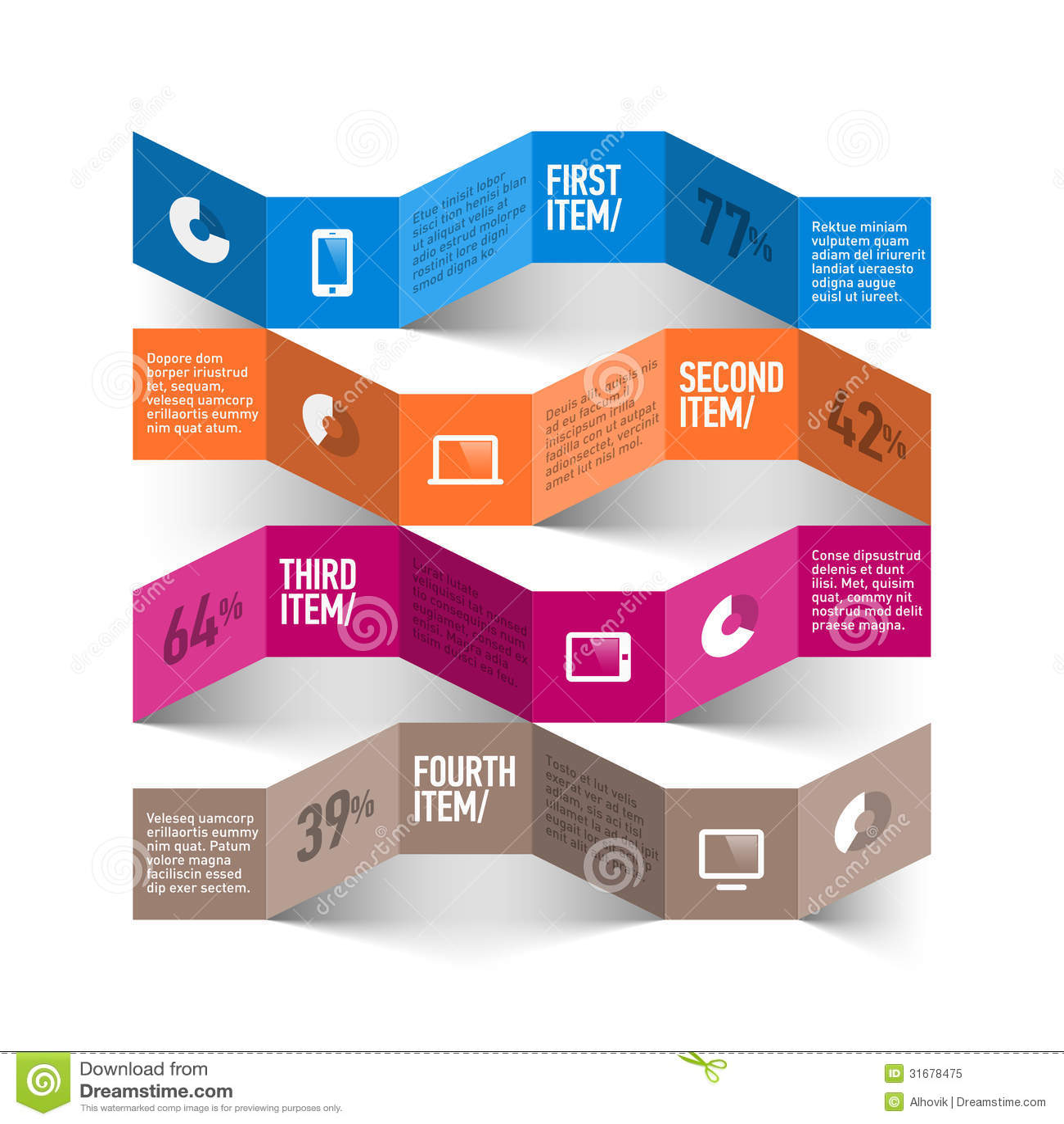 Infographics mall