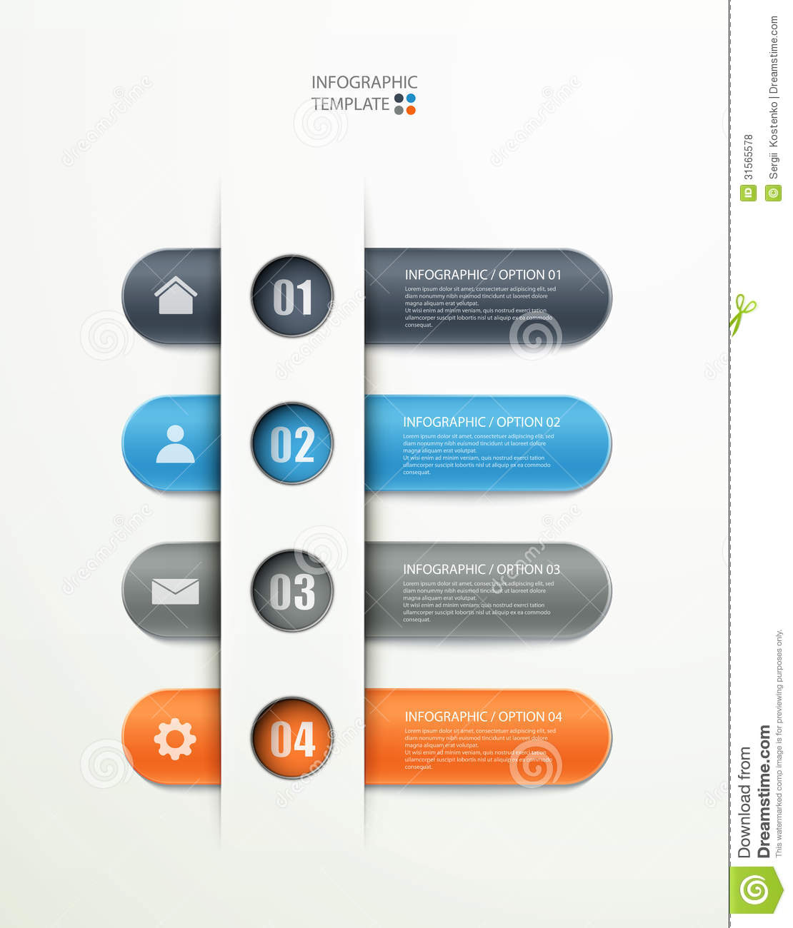 Infographics options layout stock vector illustration of modern infographics options layout modern education ccuart