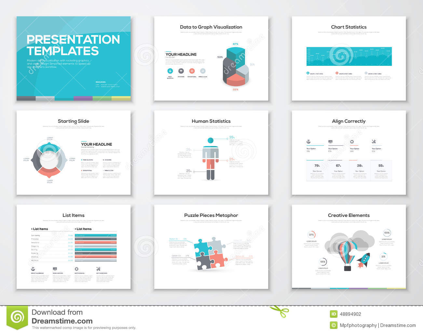 infographics presentation templates and business media brochures stock vector image 48894902. Black Bedroom Furniture Sets. Home Design Ideas