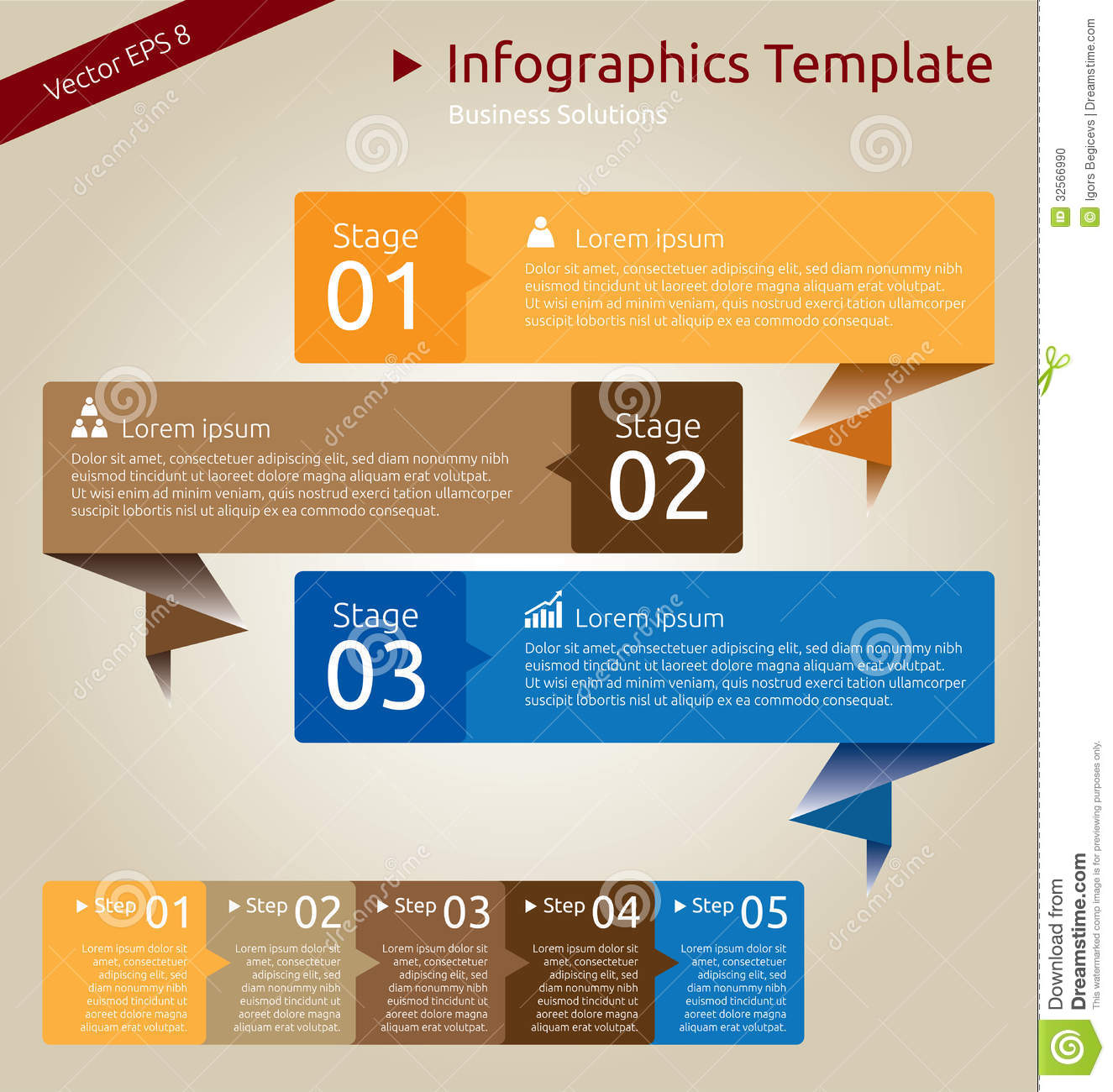 Infographics Template Stock Photo - Image: 32566990