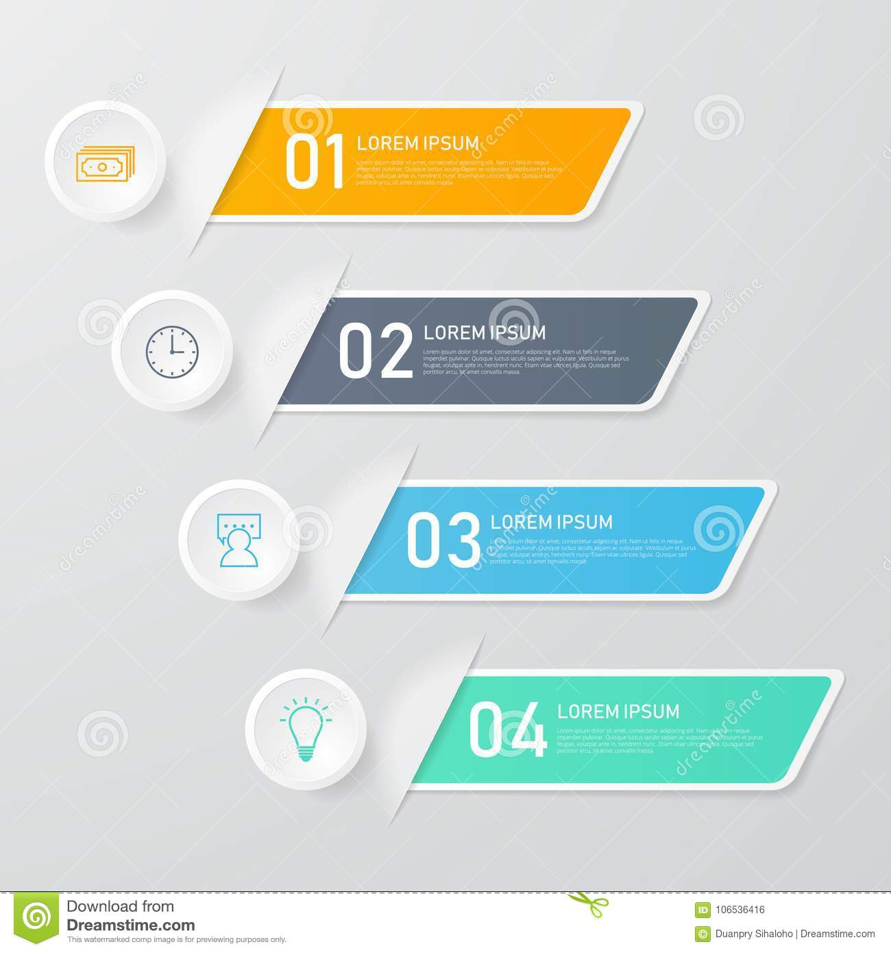 infographics template. illustrator stock vector - illustration of
