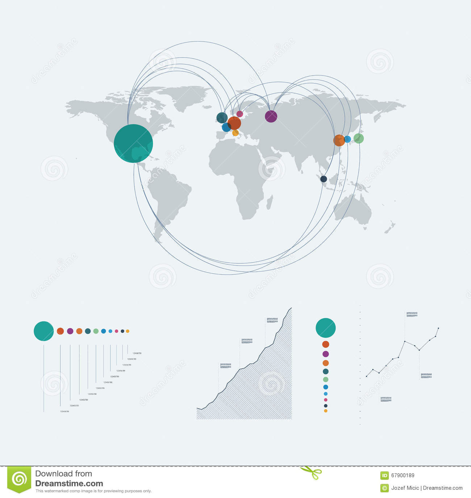 world map presentation templates