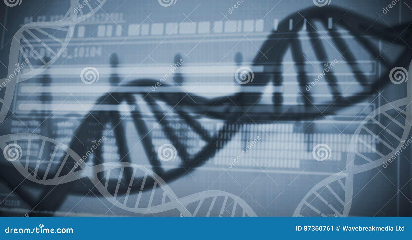 Información de la investigación genética sobre la DNA