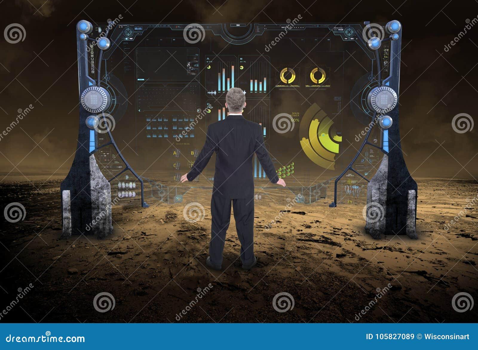 Informatietechnologie, Gegevens, Zaken, Science fiction