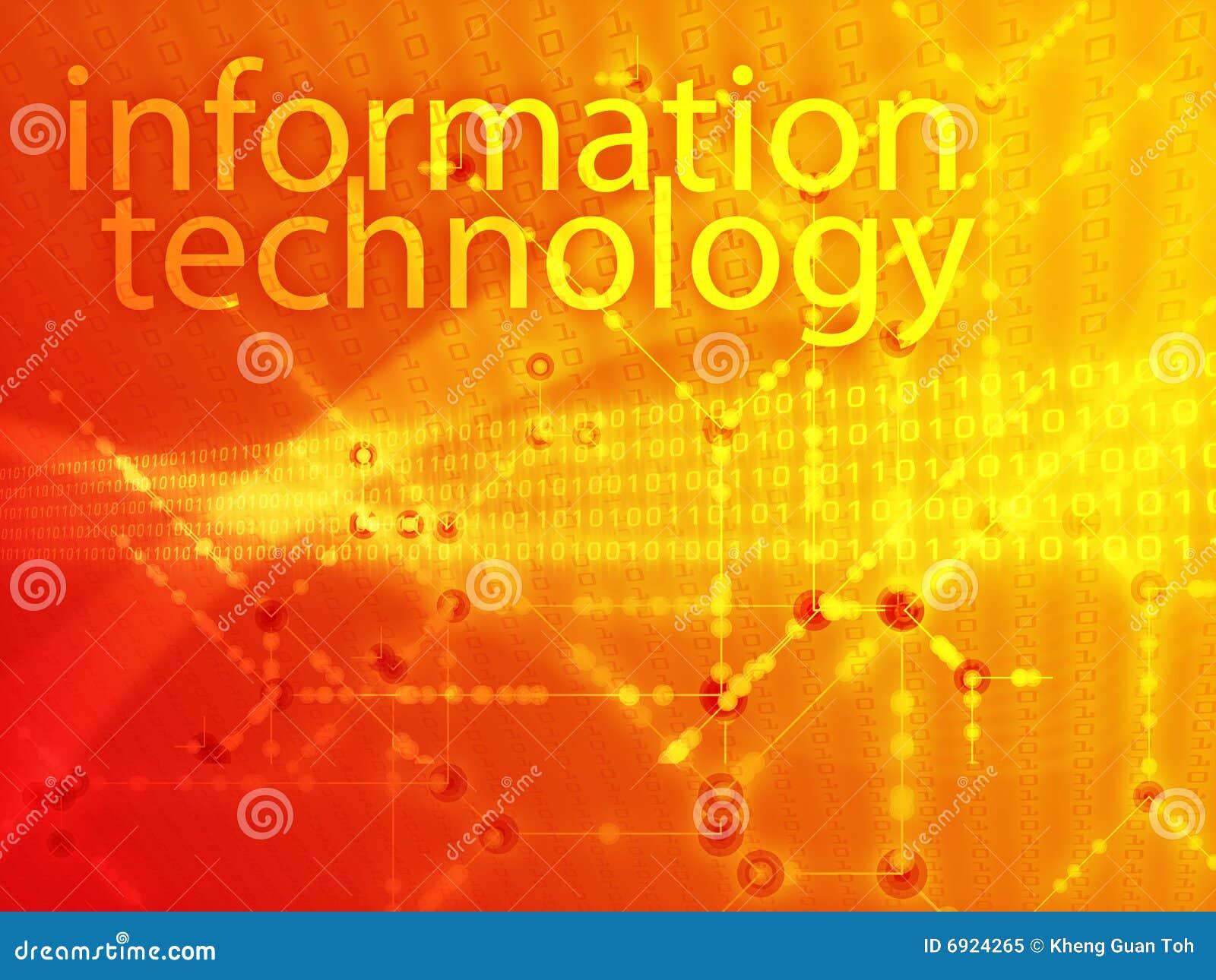 Informatietechnologie illustratie