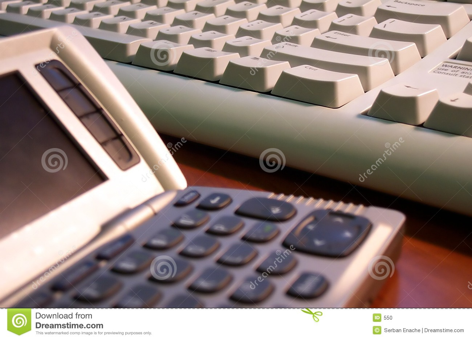 Informatieverspreider en toetsenbord