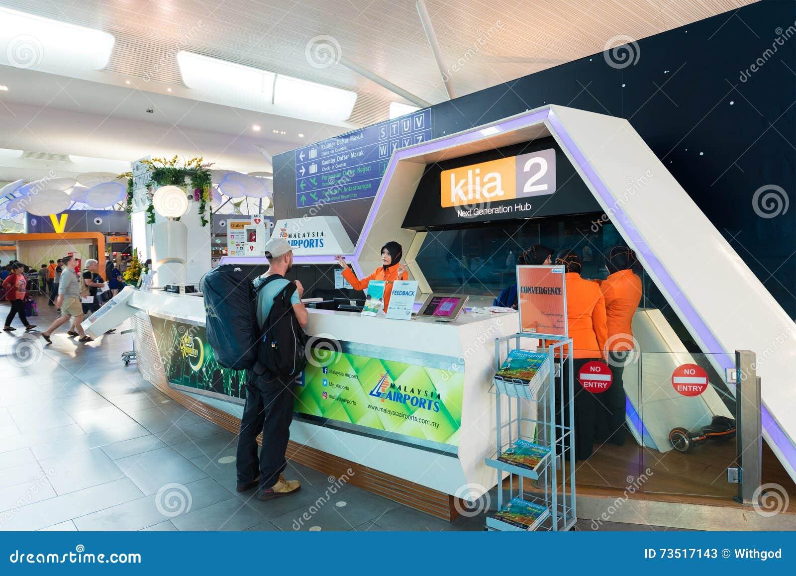 Information Center In Kuala Lumpur International Airport 2