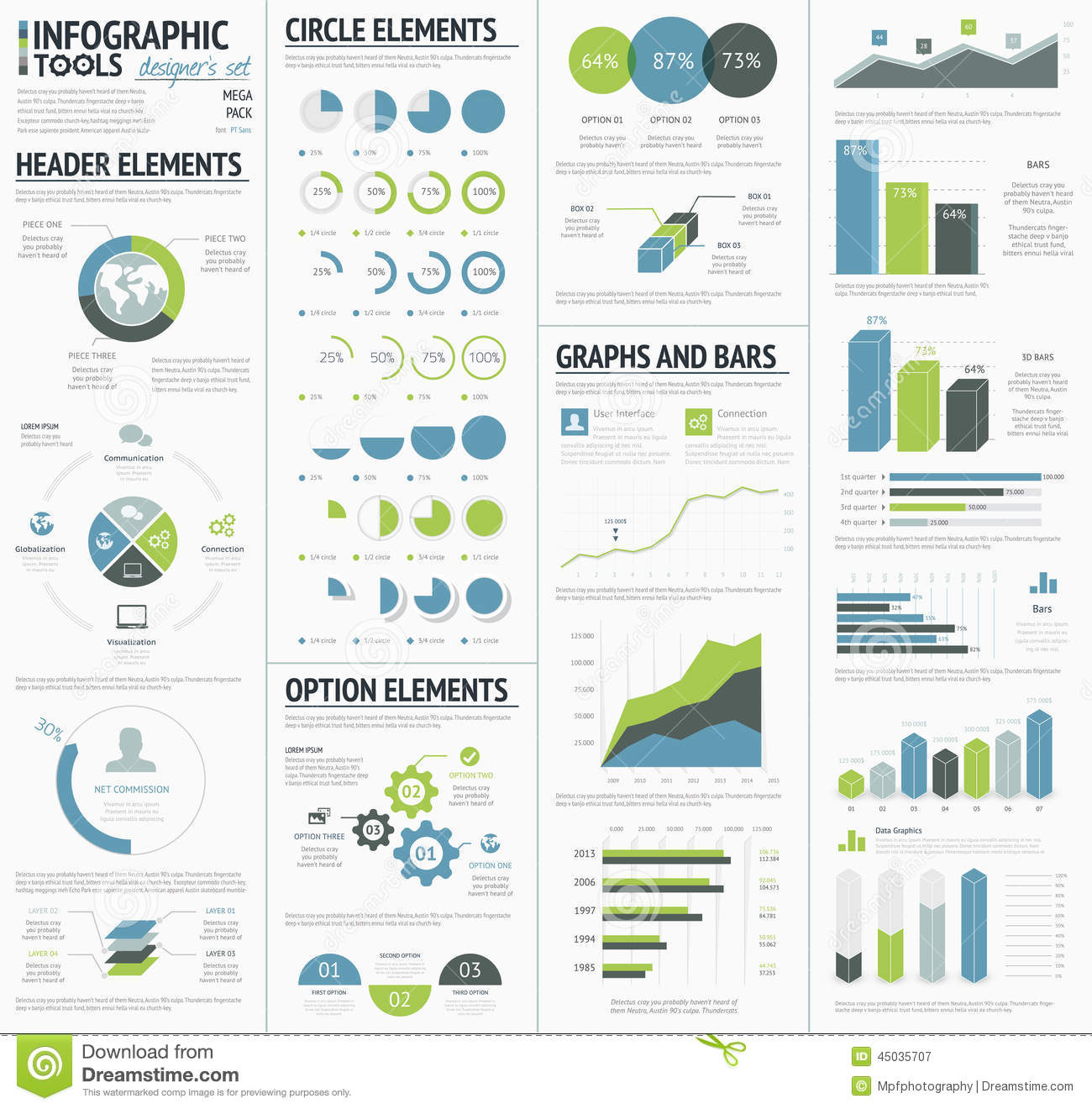 Information Graphics To Visualize Corporate Data ...
