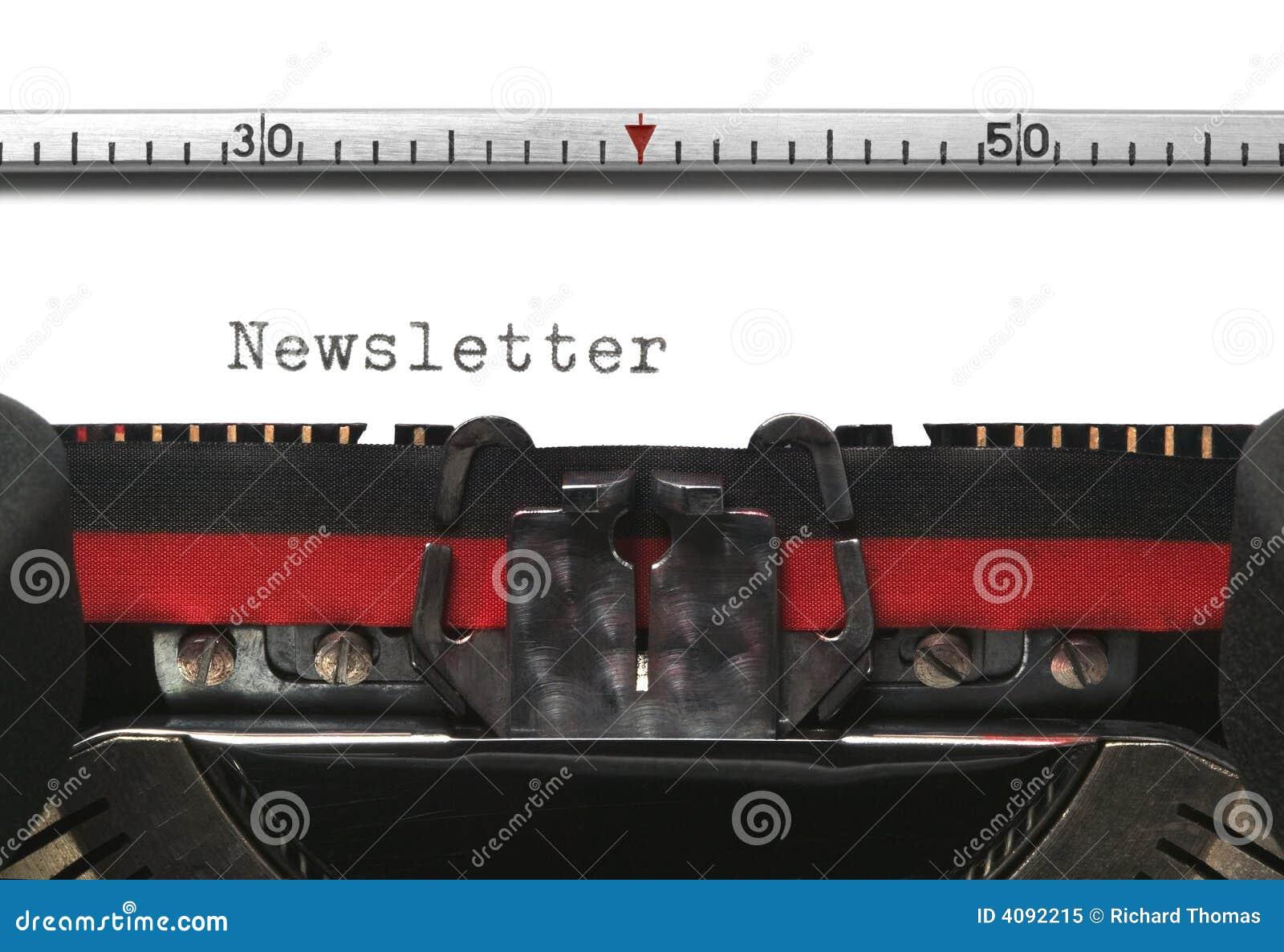 Informationsbladskrivmaskin