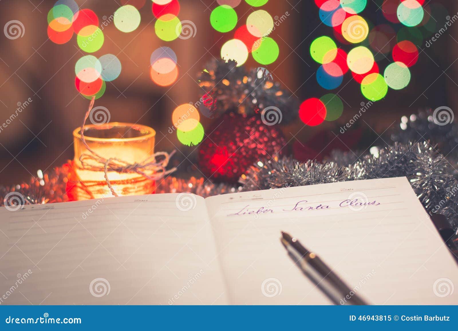 Informeer een hol Weihnachtsmann