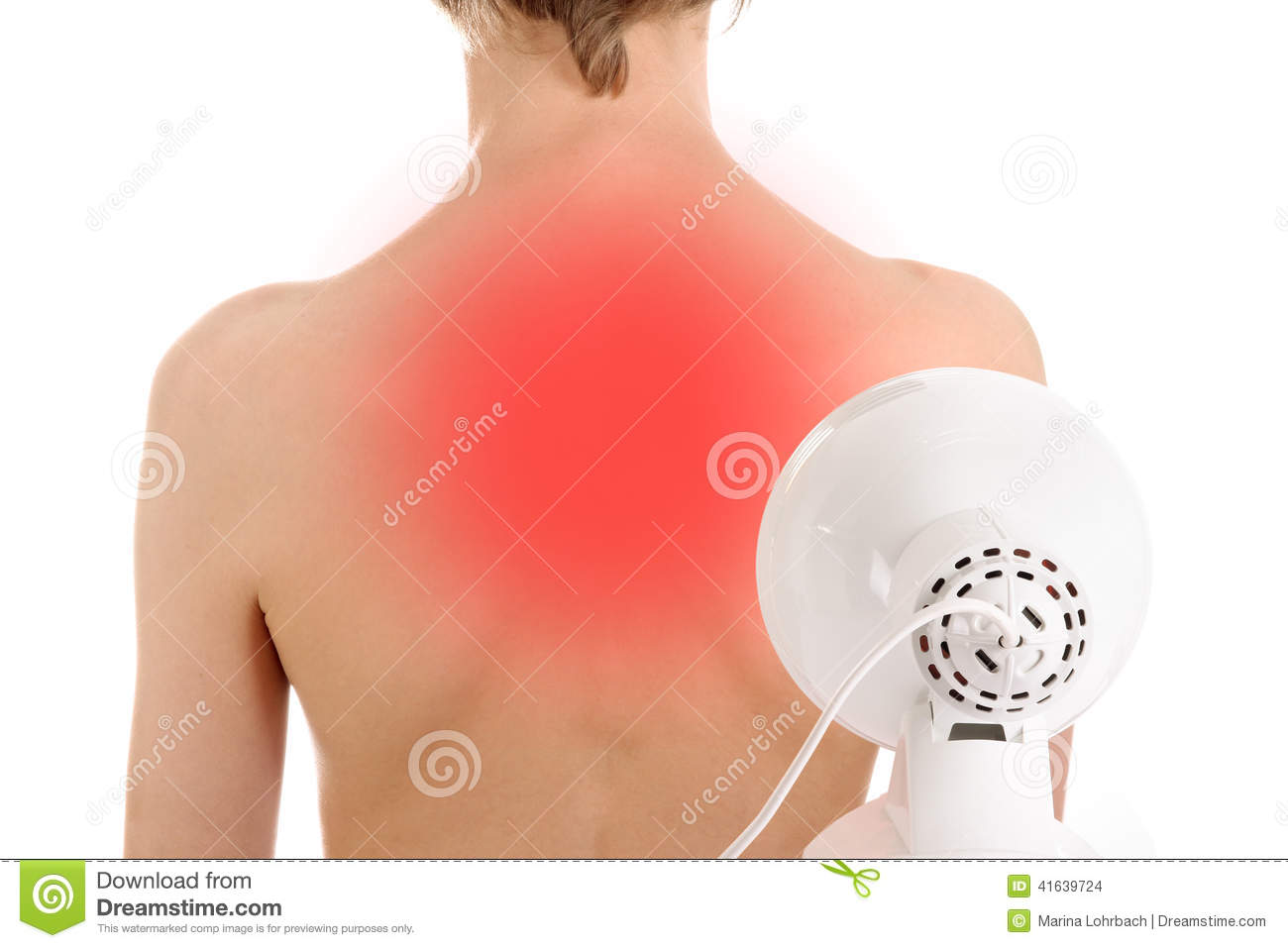 Infrared Radiation Therapy Stock Photo Image 41639724