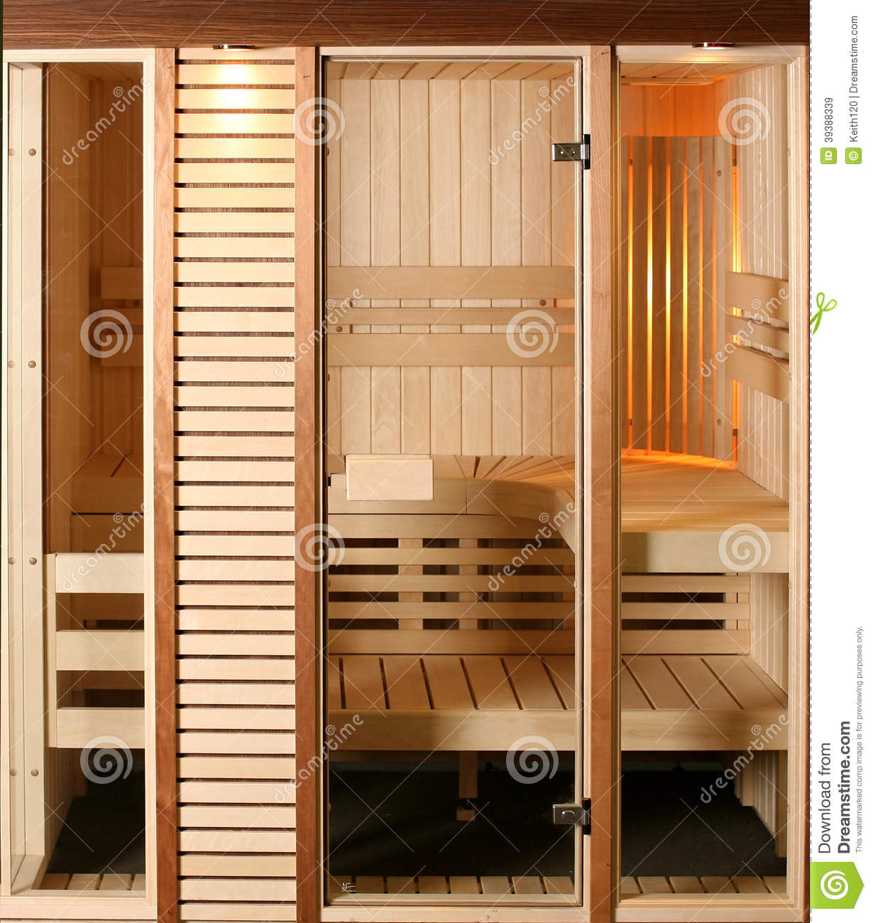 Infrared Sauna Cabin Stock Photo Image 39388339