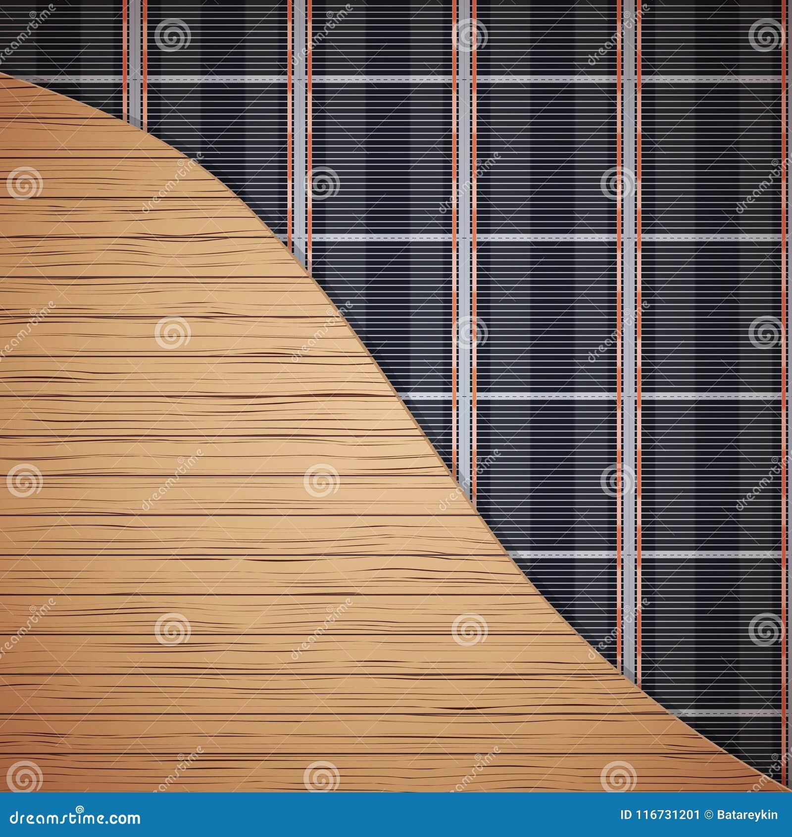 Infrarood vloerverwarmingssysteem