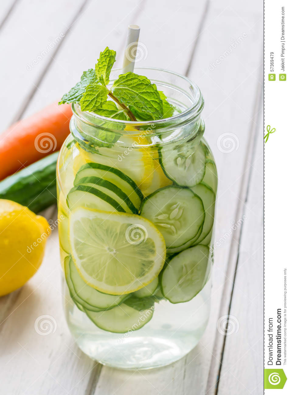 2. Watermelon – Mint Detox Water. Best suited for summer as watermelon usually available in summers. Very easy and quickly can be prepared; also looks so mouthwatering.
