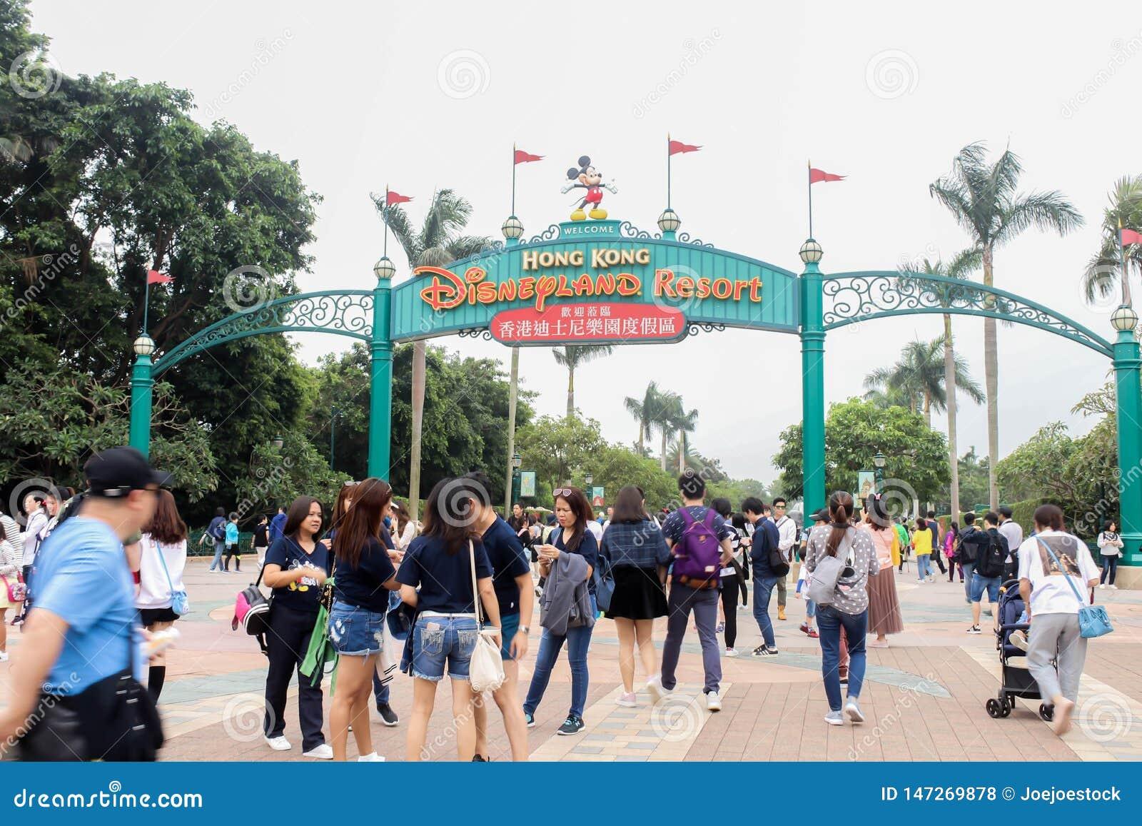 Ingångar till Hong Kong Disneyland Resort på 30 mars, 2019