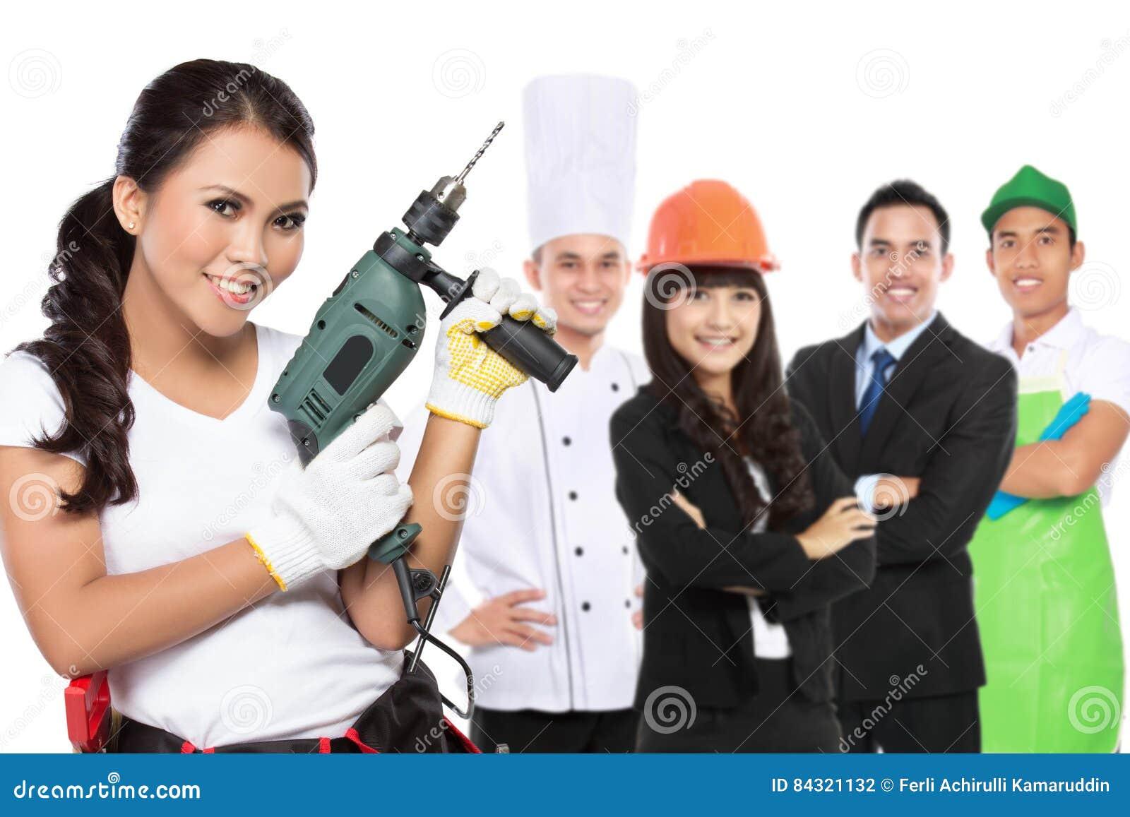 Ingénierie femelle et toute autre profession