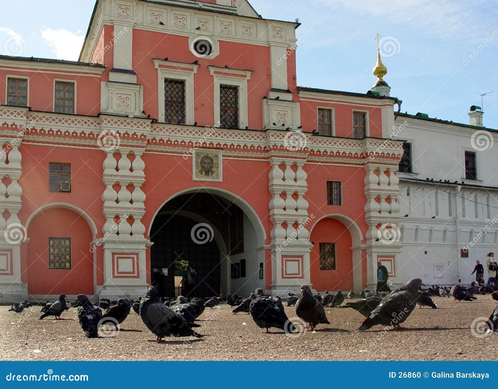 Ingang aan Klooster Danilov