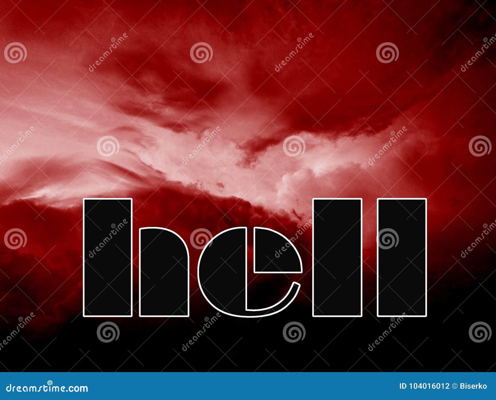 Ingang binnen aan de hel