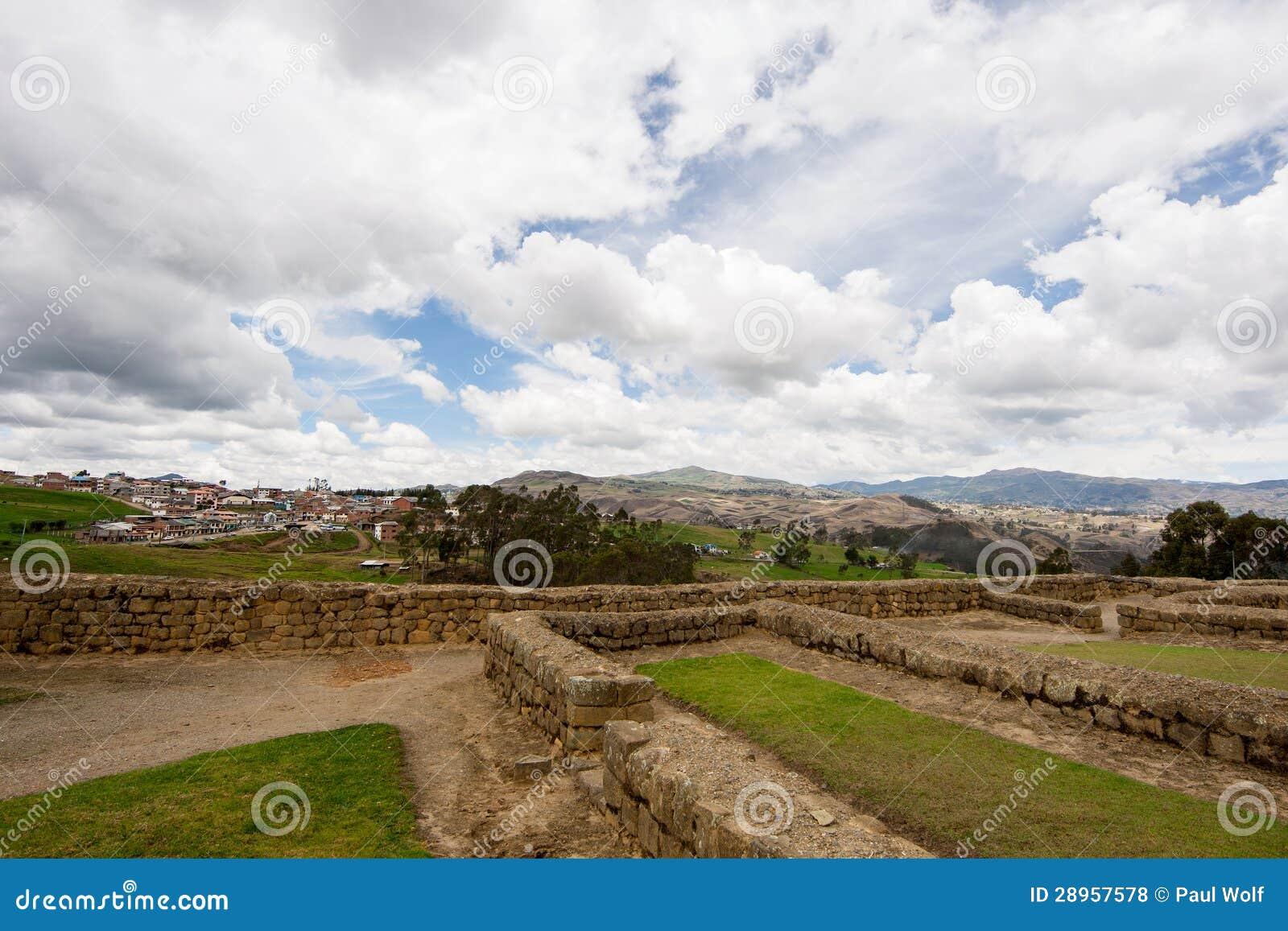 Ingapirca, Ekwador