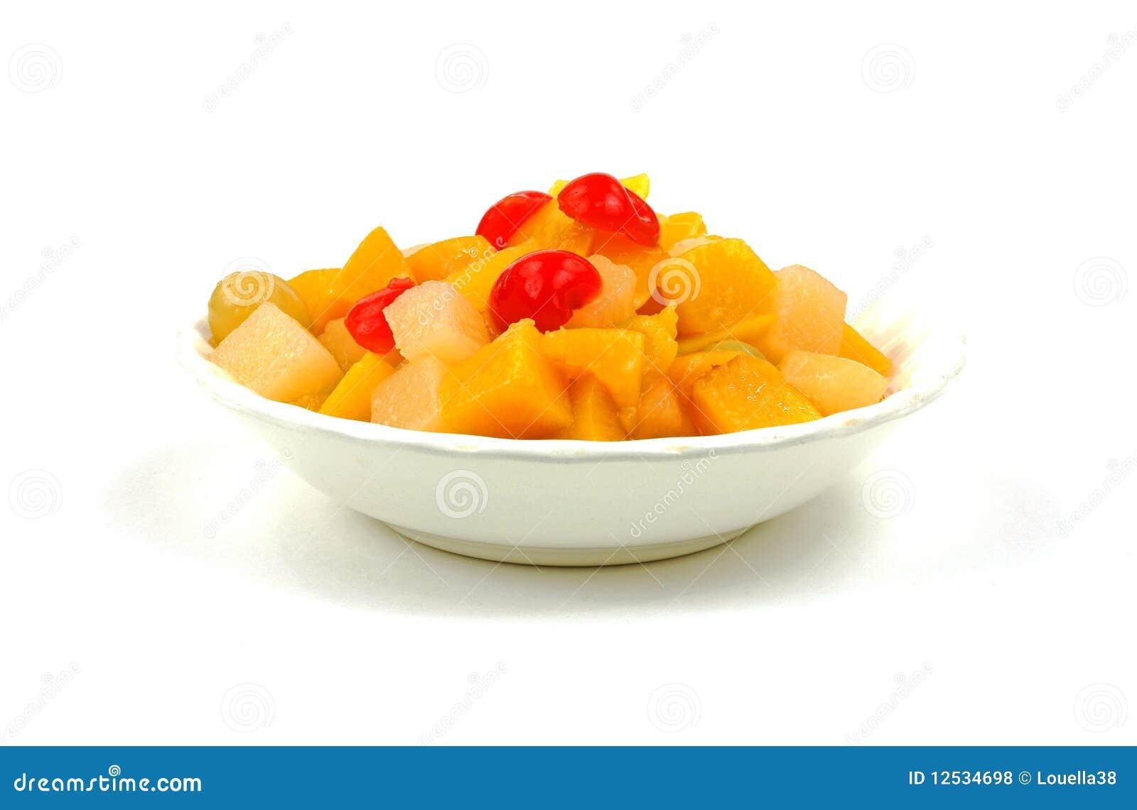 Ingeblikte fruitcocktail