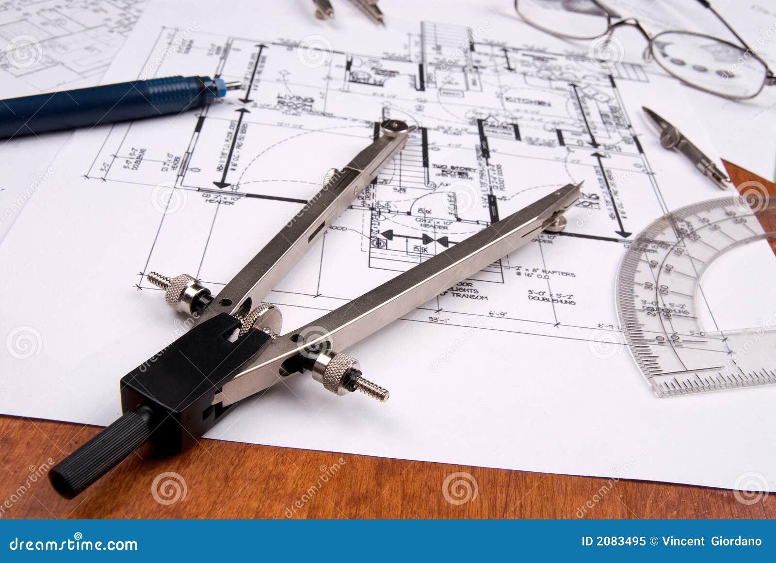 ingeniero arquitecto o planes y herramientas del
