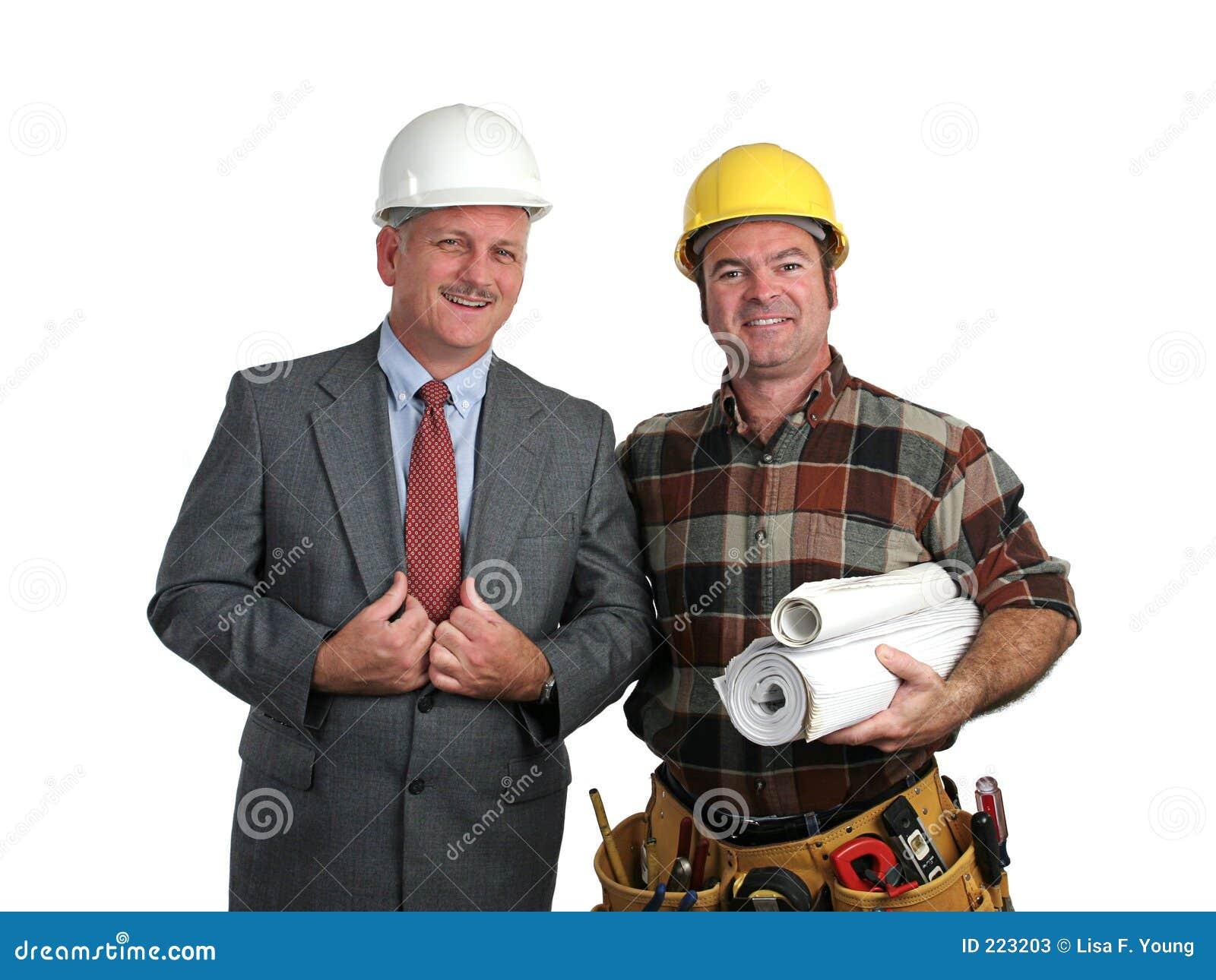 Ingeniero y contratista fotos de archivo imagen 223203 - Que es un contratista ...