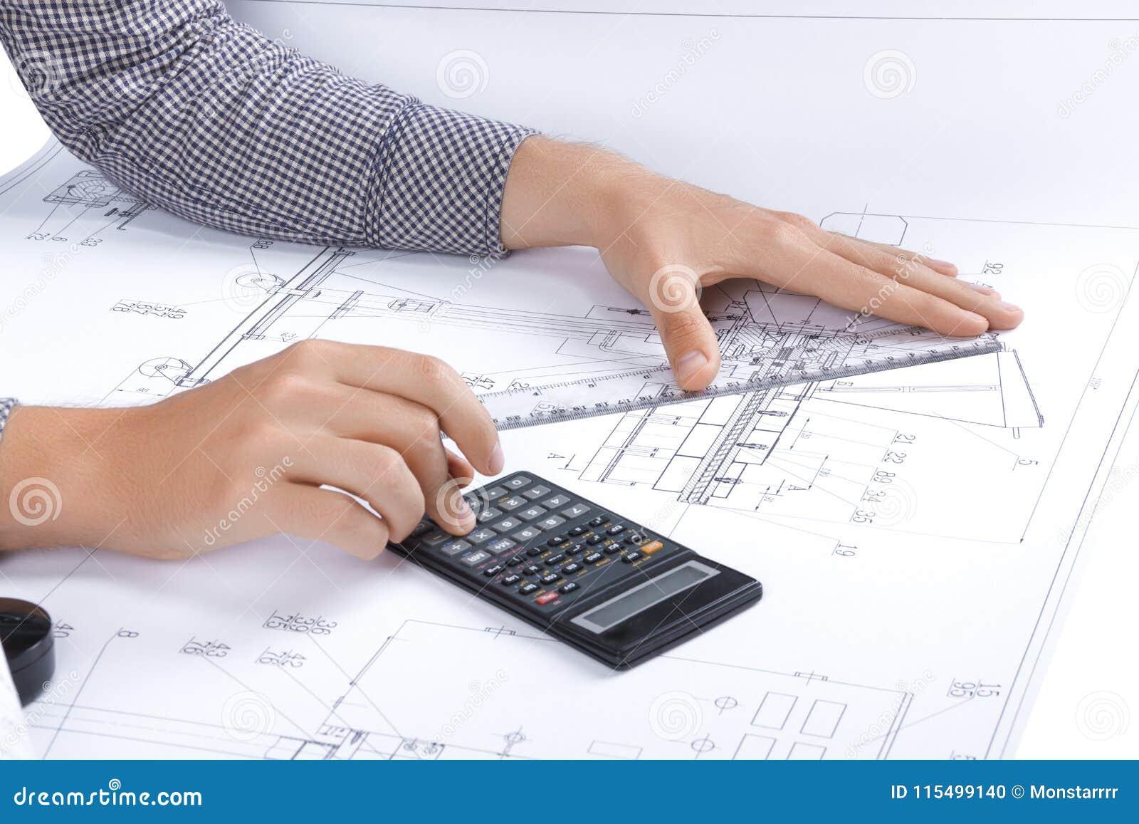 Ingenieur-/Architektenarbeitsplatz