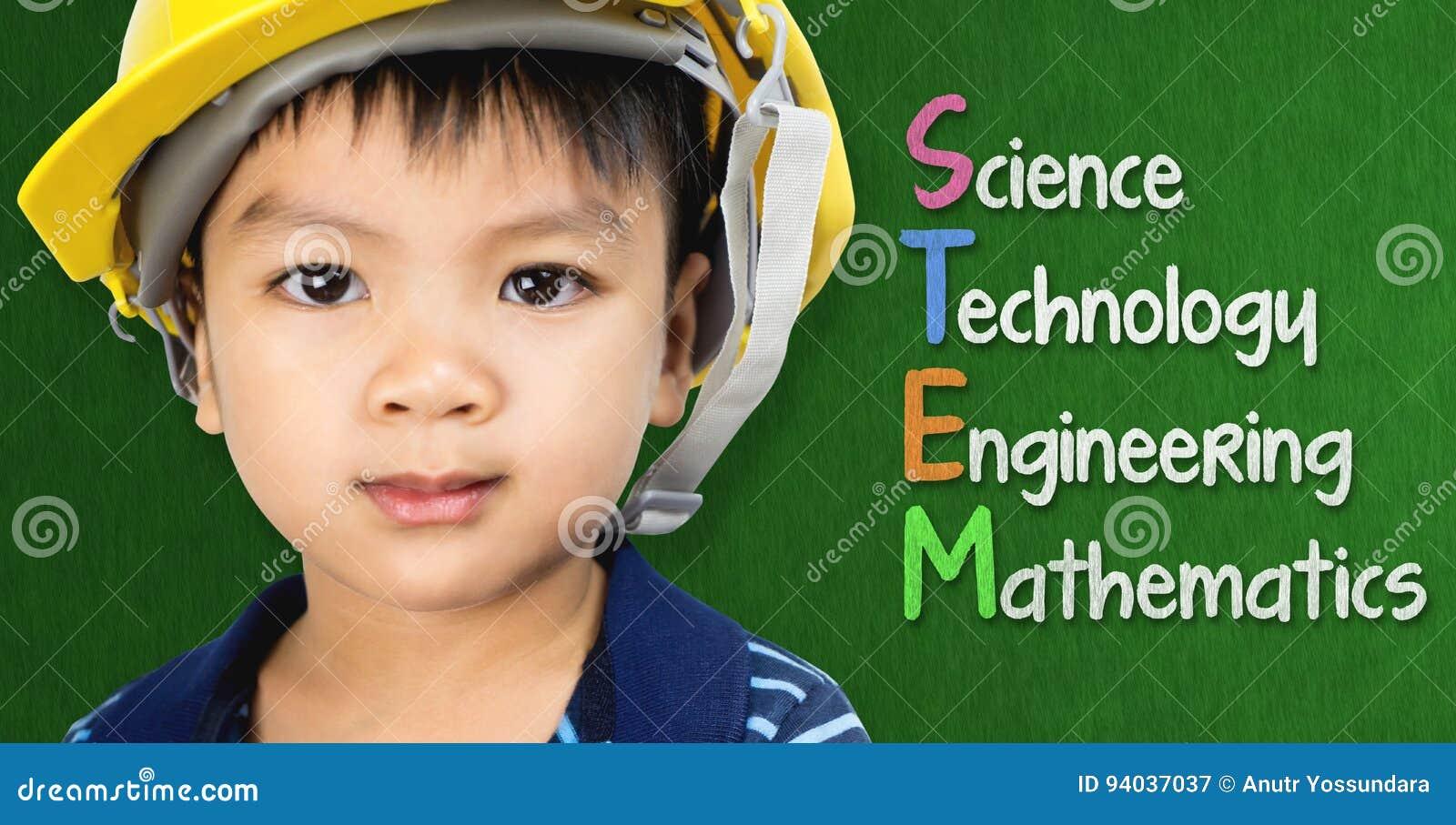 Ingenieurjunge studiert STAMMbildung