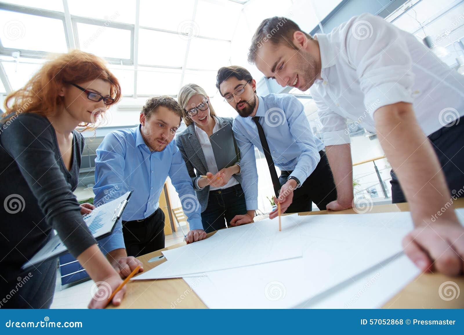 Ingenieurs op het Werk