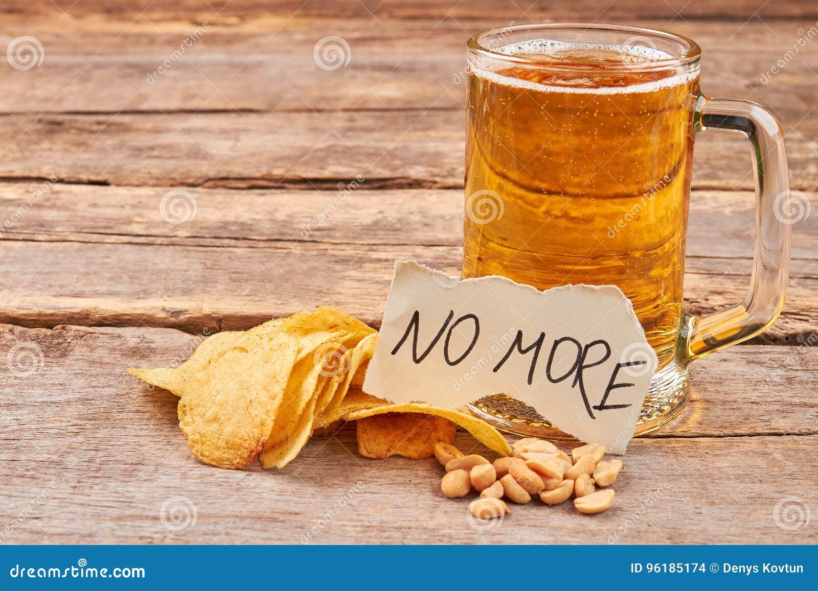 Inget mer ölmissbruk