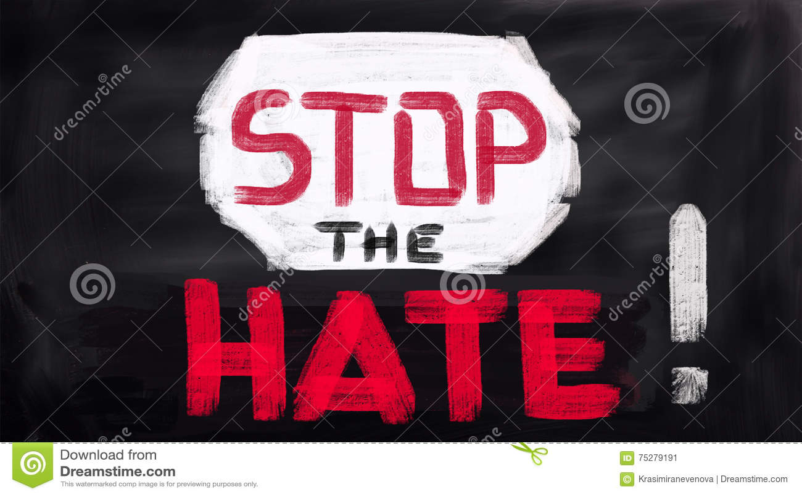 Inget skräckbegrepp, stoppar hatet