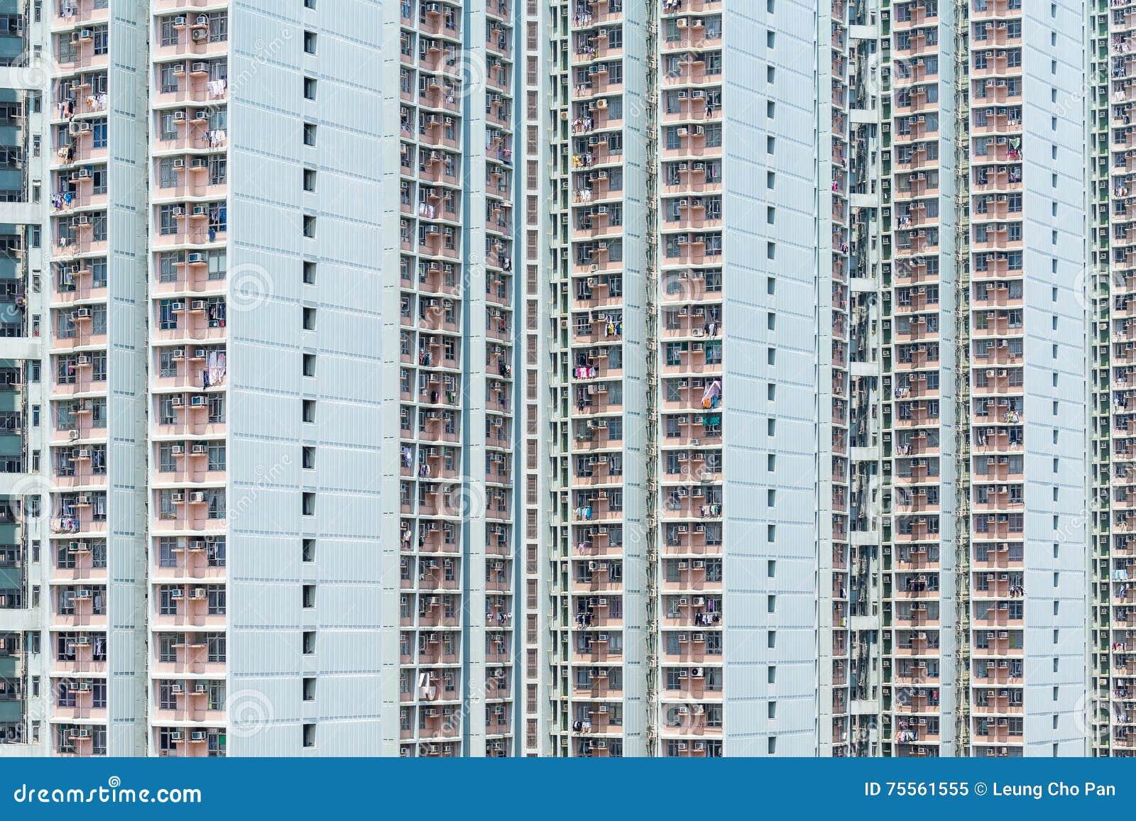 Ingezeten flatgebouw