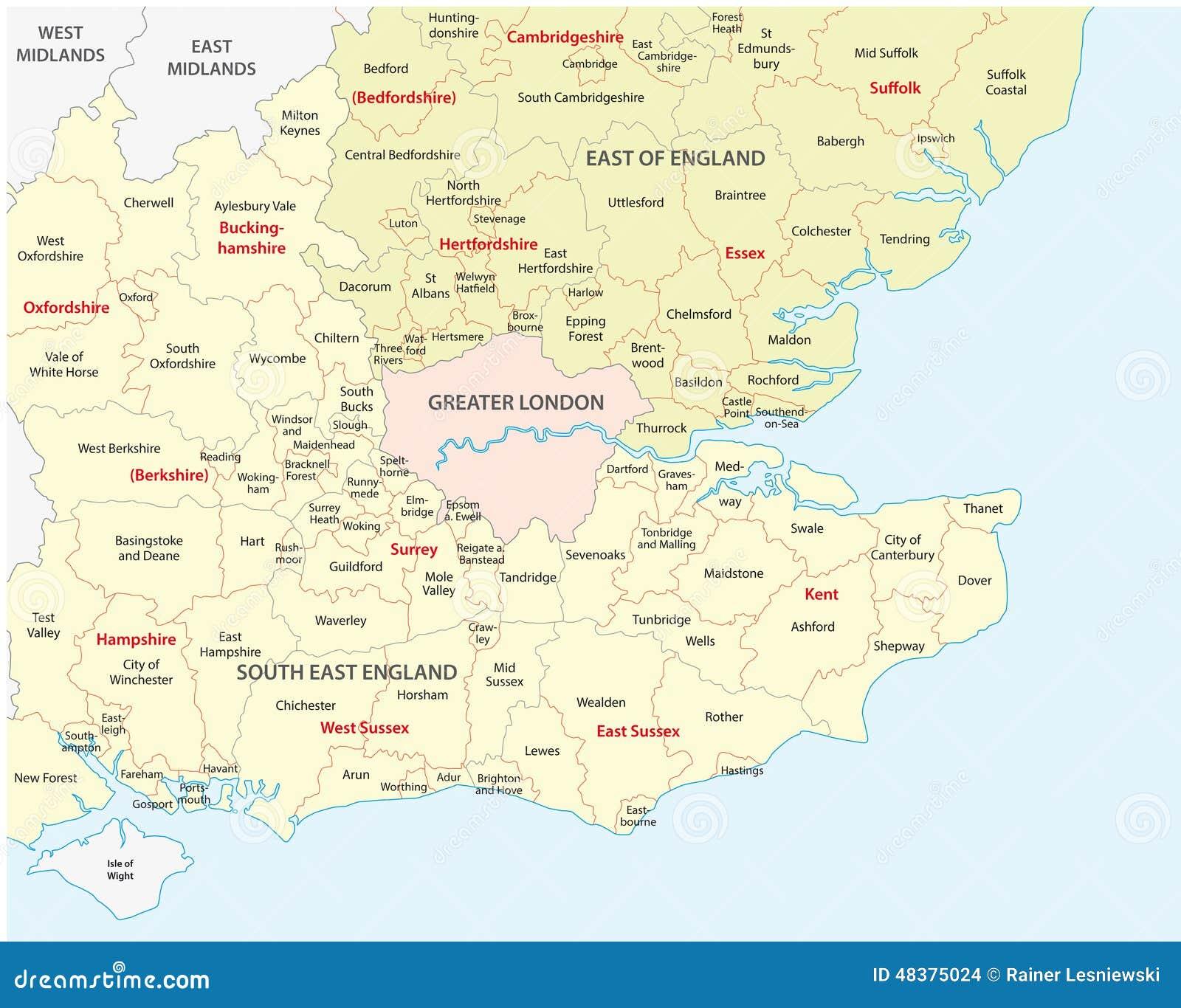 mapa do sul de inglaterra Inglaterra ocidental sul ilustração do vetor. Ilustração de  mapa do sul de inglaterra