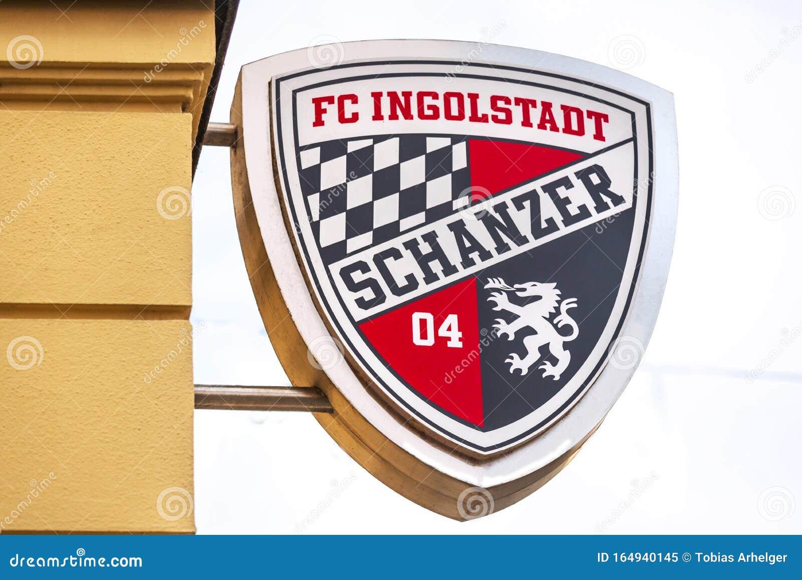 Fc Ingolstadt Soccer Sign In Ingolstadt Germany Editorial Image Image Of November Black 164940145